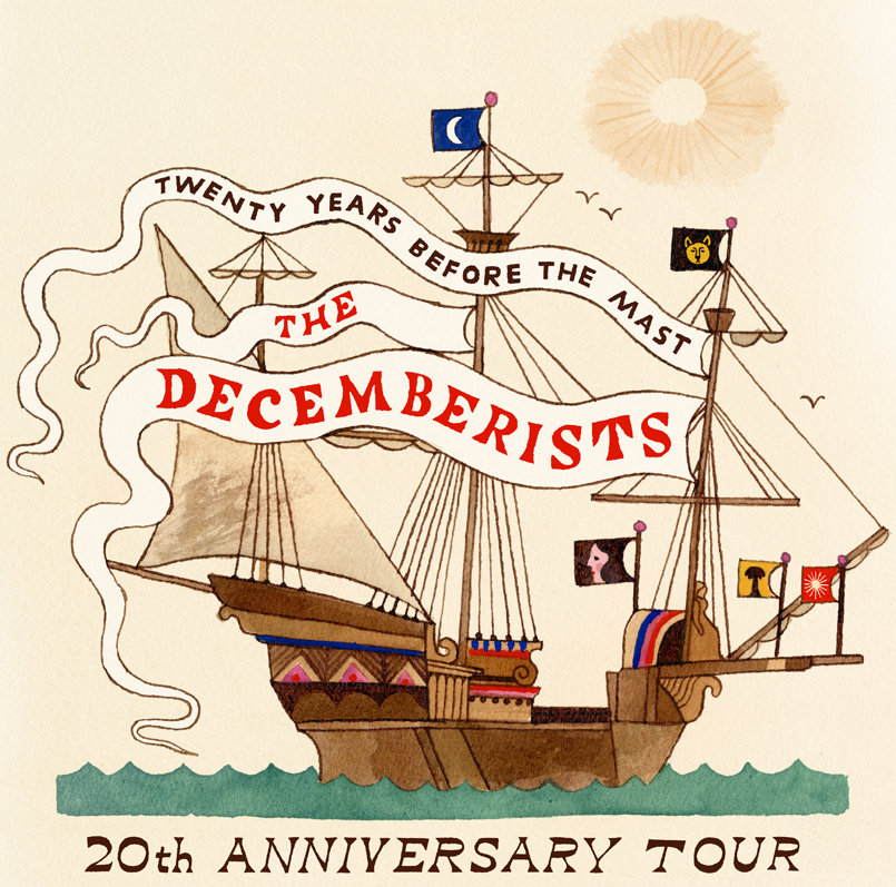 The Decemberists - 20th Anniversary Tour